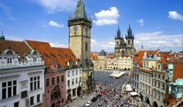 Прага-Братислава-Будапеща